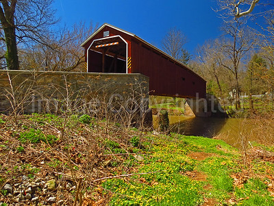 Pinetown covered bridge - Lancaster county Pa - 4/9/17