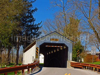 Kellers Mill covered bridge - Lancaster county Pa - 4/9/17