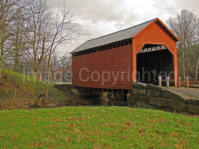 Dents Run Covered Bridge - Morgantown, WV