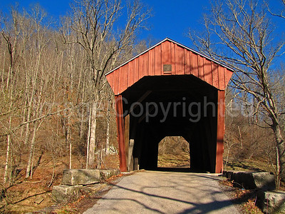 Fletcher Covered Bridge - Hundred WV