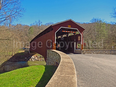 Colemanville covered bridge - Lancaster county Pa - 4/9/17