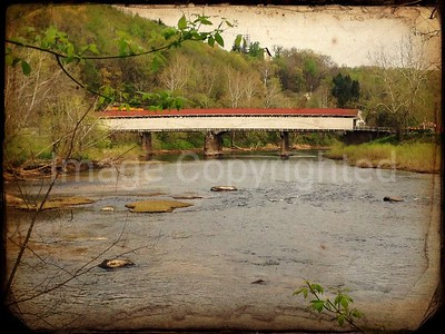 Philippi covered bridge 6/7/12