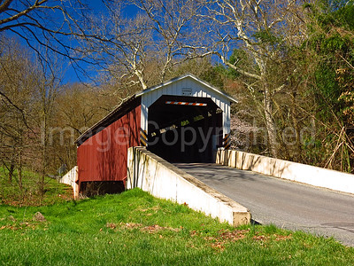 Baumgardeners covered bridge - Lancaster County Pa - 4/9/17