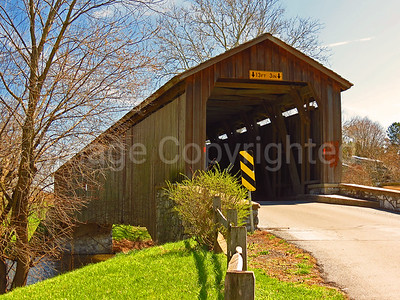 Hunsecker covered bridge - Lancaster county Pa - 4/9/17