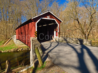 Kurtz Mill covered bridge - Lancaster County Pa - 4/9/17