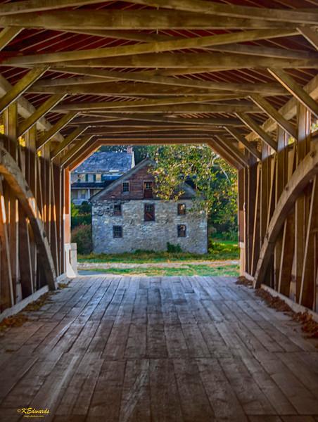 Baumgardner Covered Bridge & mill