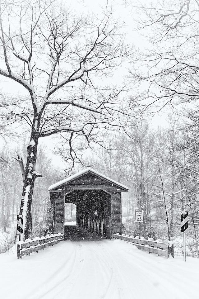 Middle Road Bridge, Ashtabula Ohio<br /> built 1868, renovated in 1884