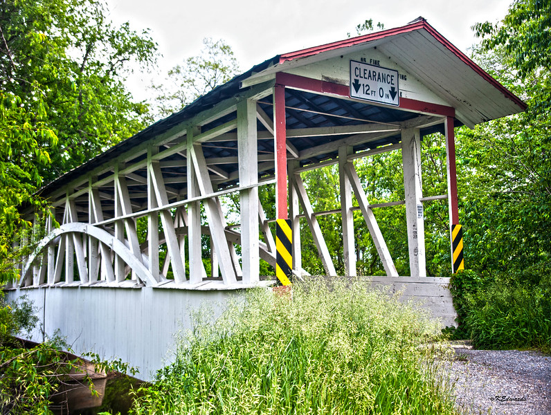 Raystown Covered Bridge / Turner Covered Bridge / Diehls Covered Bridge