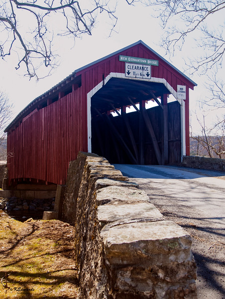 New Germantown Covered Bridge