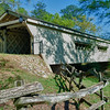 Hurricane Shoals Covered Bridge, GA