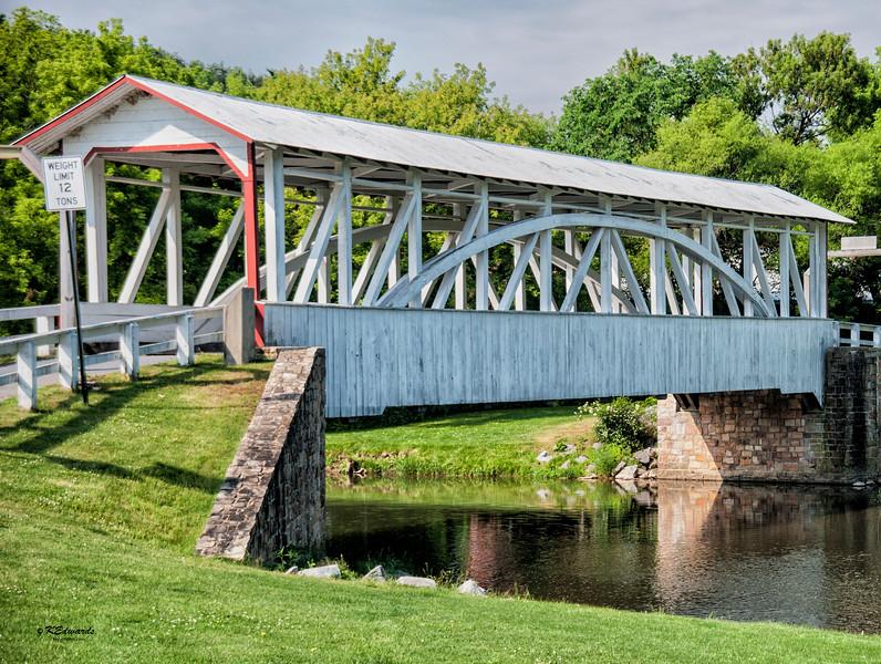 Hall's Covered Bridge