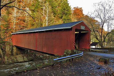 McConnells Mill State Park, PA Covered Bridge