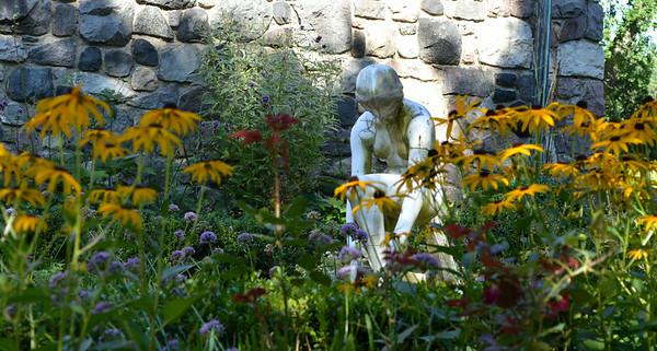 Cranbrook Gardens in Bloomfield Hills, Michigan