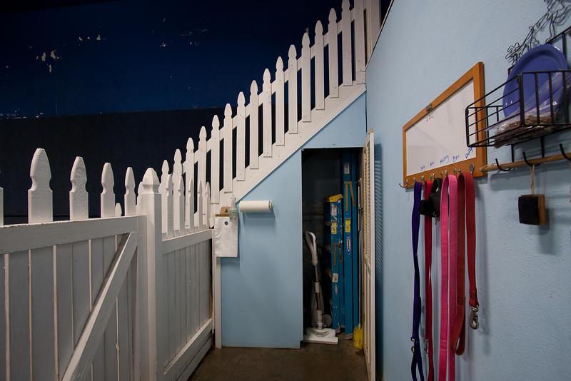 daycare intro area & storage closet