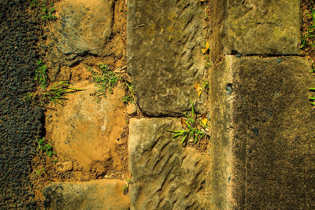 Hand-cut Stone Guttering, Windsor