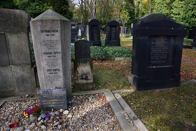 hrob spisovatele Franze Kafky