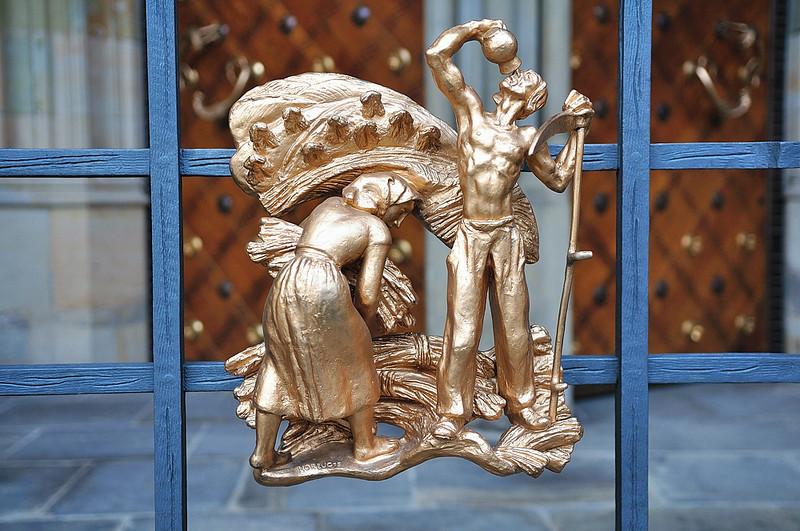 Výzdoba na chrámu sv. Víta