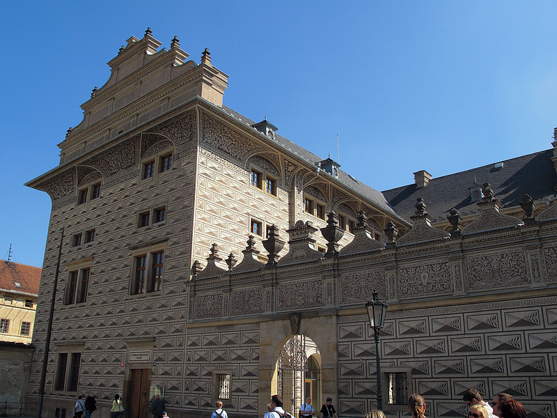 Schwarzenberský palác, ukázková renesance