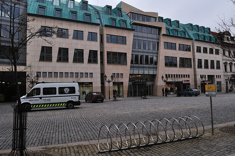 obchodní dům Myslbek a Ovocný trh