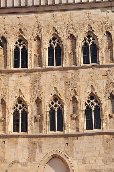 dům u Kamenného zvonu - detail