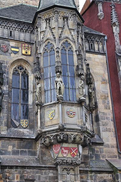 Staroměstská radnice - detail