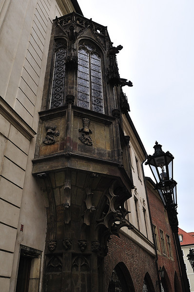 budova Karolina - detail