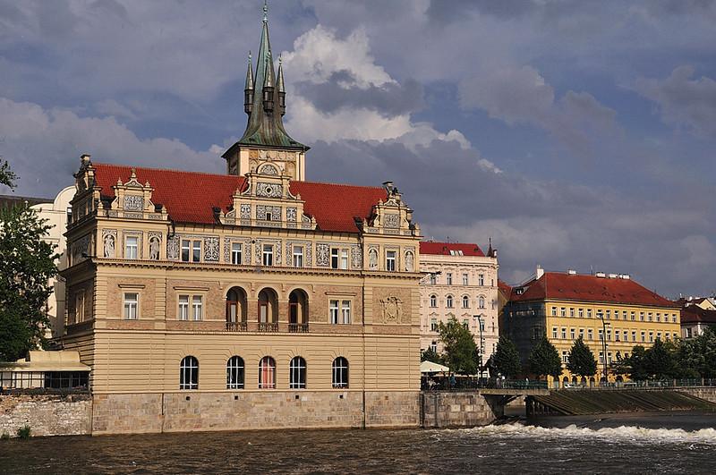 Museum of Bedřich Smetana, famous czech composer of classical music