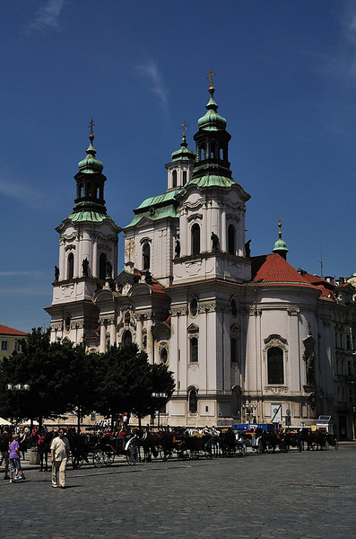 St. Nicholas church at the Old Town Square