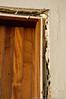 side door, east side of bldg, interior view
