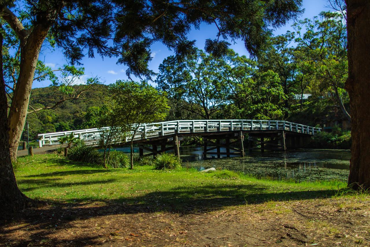 Bridge over Audley Weir, Sydney