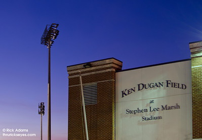 The baseball field at David Lipscomb named for Ken Dugan, the head coach from 1960 to 1996.