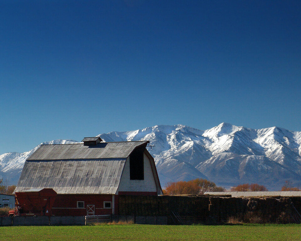 Barn near Logan, Utah