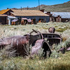 the wheels are not in motion -  Bodie, Ca