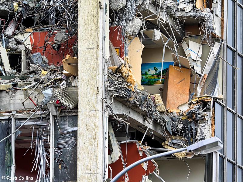 Demolition of 61 Molesworth Street, Wellington, 30 November 2016
