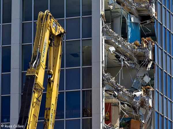 Demolition of 61 Molesworth Street 2016