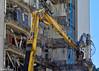 Demolition of 61 Molesworth Street, Wellington, 9 December 2016