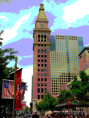 Daniels & Fisher Tower, Denver, Summer
