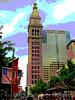 Daniels & Fisher Tower, Denver, Summer