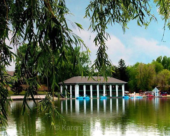 Washington Park Boathouse Summer