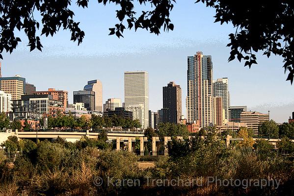 Denver Looking East Summer