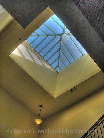 East High School Stairwell Skylight