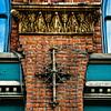 Ornamental Cross Shaped Tie Rod, 114 1st Avenue South, Seattle, Washington