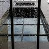 Rain on Glass Awning, Pike Street, Seattle, Washington