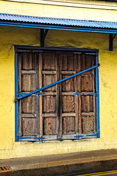 Shuttered Window, St. John's, Antigua