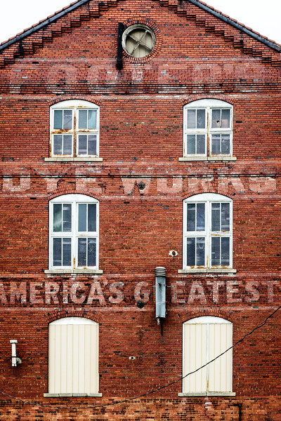 Footer's Dye Works Howard Street, C&O Canal Basin, Cumberland, Maryland