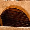 Adobe Architectural Details, Church Square, Dixon, New Mexico
