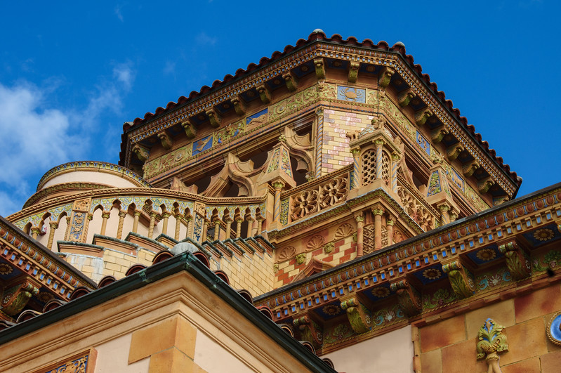 Belvedere tower, Ca' d'Zan Mansion, Ringling Museum, Sarasota