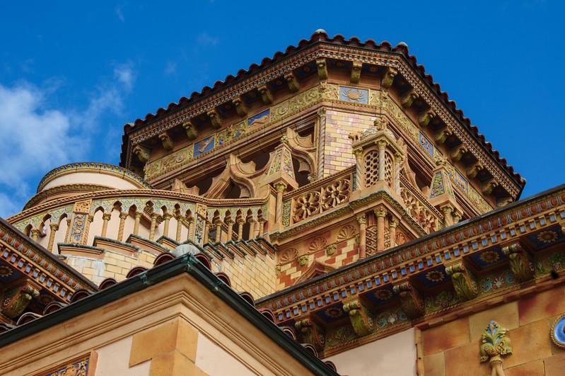 Belvedere tower, Ca' d'Zan Mansion, Ringling Museum, Sarasota