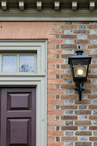 Carriage lamp, Colonial Williamsburg, Virginia