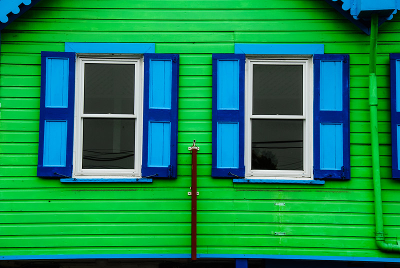 Colorful Building, St. Johns, Antigua